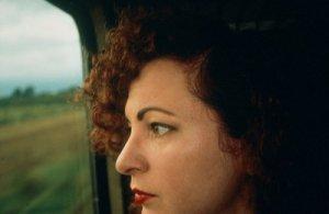 © Nan GOLDIN - Self-Portrait on the Train, Germany - 1992