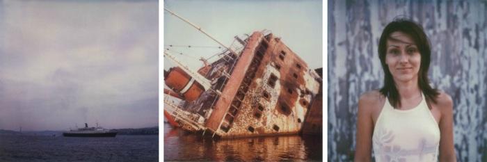 Détroit du Bosphore, Istanbul, Turquie / Mer de Marmara, Istanbul, Turquie / Nadia, Bourgas, Bulgarie / 2004 © Philippe Guionie