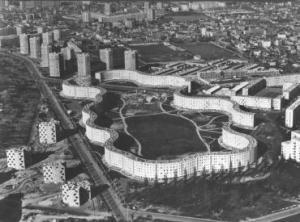 Les Courtillières © Fonds Émile Aillaud. SIAF/Cité de l'architecture et du patrimoine/Archives d'architecture du XXe siècle.