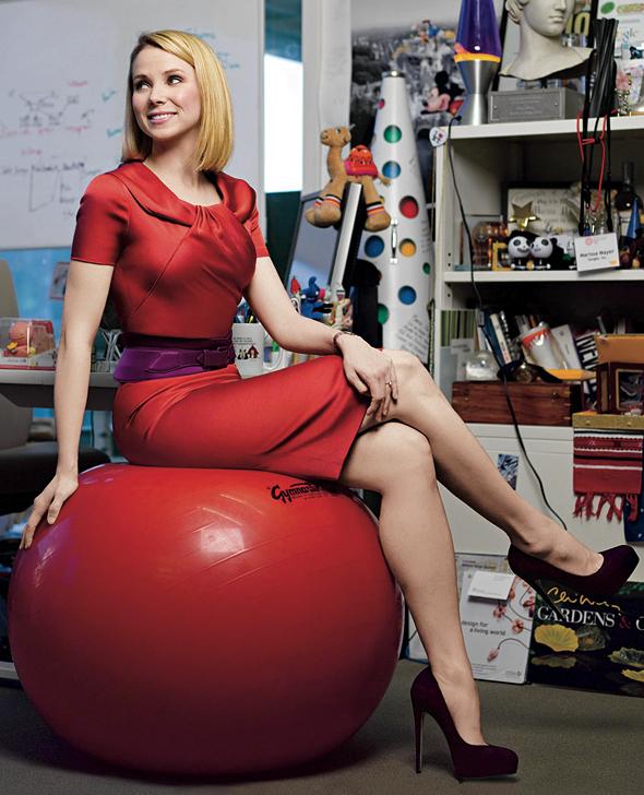 Marissa Mayer, CEO de Yahoo / © Brigitte Lacombe