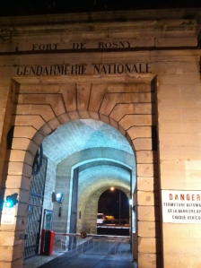 Fort de Rosny, Institut de recherche criminelle de la gendarmerie nationale © Margaux Duquesne