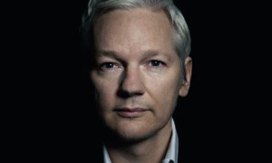 Julien Assange, par Gian Paul Lozza pour le Guardian