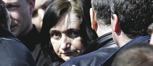 Monique Olivier, compagne de Michel Fourniret © AFP