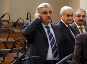 Rafic Hariri le 14 février 2005 à Beyrouth quelques instants avant sa mort HASAN IBRAHIM AFP/ARCHIVES