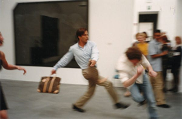 Alberto Sorbelli – L'Agresse – Venice Biennial 1999