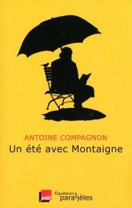 Un été avec Montaigne, a été publié en mai 2013. Il est adapté des chroniques radiophoniques d'Antoine Compagnon, sur France Inter, pendant l'été 2012. Le livre a été tiré à plus de 90 000 exemplaires.