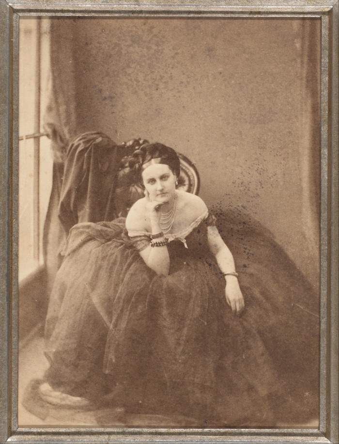 Le regard. La Comtesse de Castiglione, 1856–57. Photo : Pierre-Louis Pierson / Gilman Collection, Gift of The Howard Gilman Foundation, 2005, Metropolitan Museum