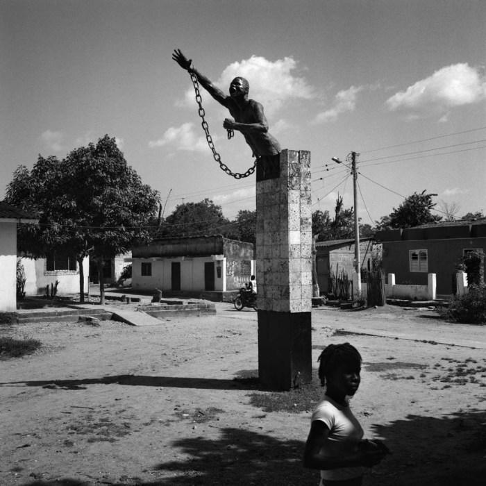 San Basilio de Palenque, Colombie, 2009. Le village, de 3 500 habitants, a été fondé par un roi africain nommé Benkos Bioho au 17ème siècle. Il a été le refuge des esclaves fugitifs avant de devenir aujourd'hui un espace culturel unique. © Philippe Guionie