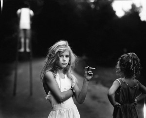 Sally Mann, Candy Cigarette, Jessie, 1989