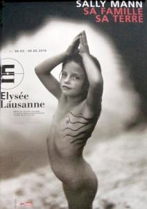 """L'affiche de l'exposition """"Sally Mann : sa famille, sa terre"""", au Musée de l'Elysée à Lausanne"""