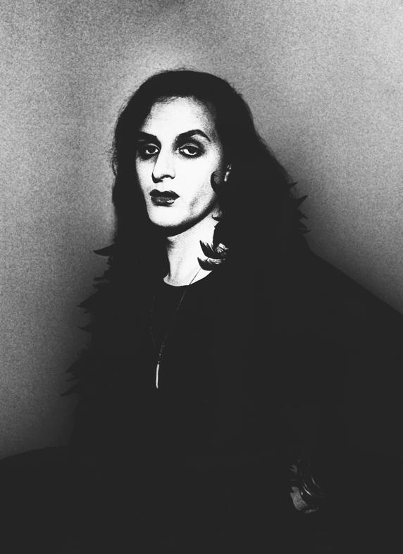 Selfportrait, 1973. Urs Lüthi