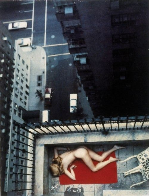 Central Park West, New York, 1977. Helmut Newton.