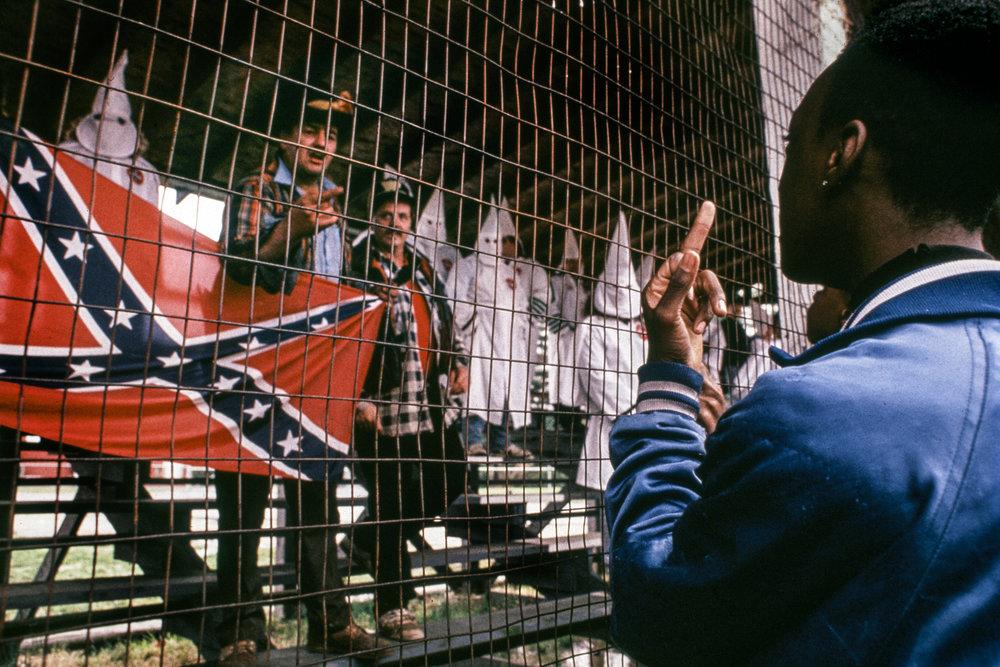 F*ck the KKK, USA, 1990   RESIST by Nina Berman / NOOR